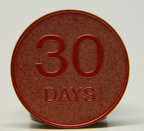 OVEREATERS ANONYMOUS - 30 DAY ANNIVERSARY COIN - MEDALLION
