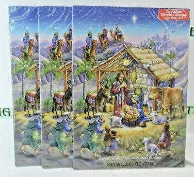 Christmas Nativity Story Chocolate Advent Calendar (Set of 3)