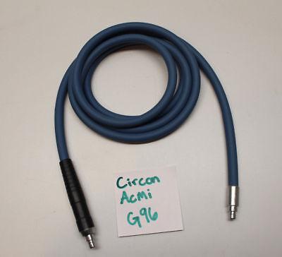 Circon Acmi G96 Autoclavable Fiber Optic Surgical Light Source Cable 7 Foot