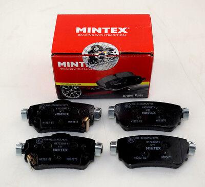 BRAND NEW MINTEX REAR BRAKE PADS SET MDB3675 (REAL IMAGES OF THE PARTS)