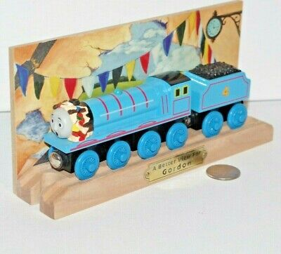 Thomas Friends Wooden Railway Train Tank Engine Better View for Gordon w/ (Best Toy Train Set)