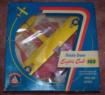 VINTAGE COX 105 SUPER CUB CIVIL AIR IN BOX THIMBLE DROME