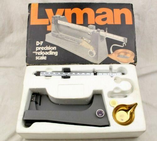 Lyman D-7 Precision Reloading Powder Scale