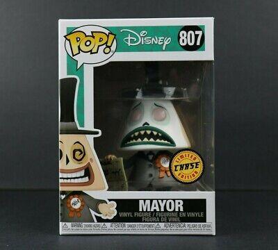 Funko Pop! Disney Mayor Chase #807 Nightmare Before Christmas NBC Soft Protector