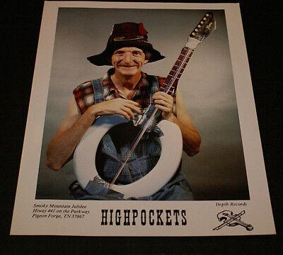 "Highpockets 8 x 10"" Color Vintage Promotional Photo Smoky Mountain Jubilee VG++"