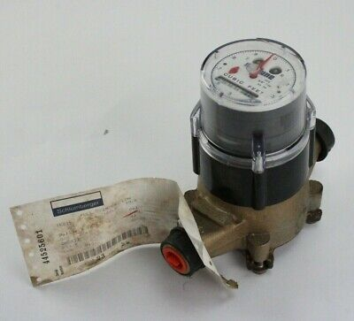 Neptune 58x34 Water Meter T-10 Trident Nsf61 Direct Read Cubic Feet