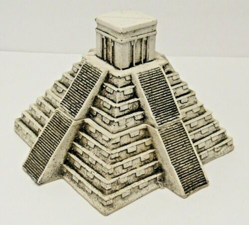 Mayan Aztec Mesoamerican Pyramid of the Sun Moon Calendar Secret Jewelry Box
