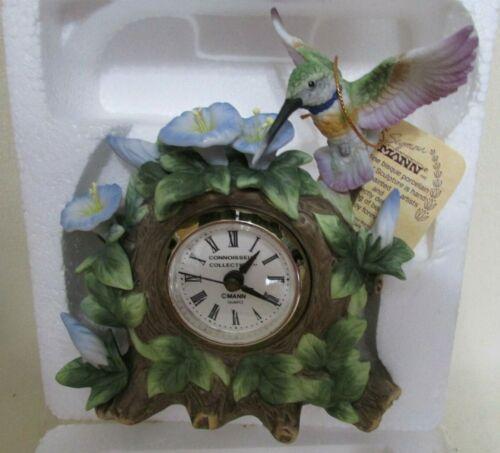 "Vintage Collectible Clock ""Hummingbird"" - Seymour Mann - New"