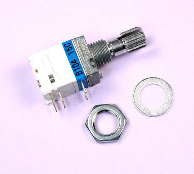 1pc Tocos Linear Potentiometer 100k W 2 Switches And Detents