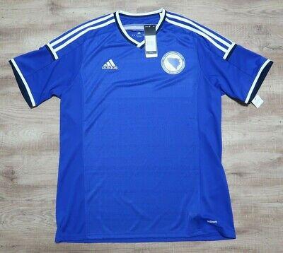 Bosnia Soccer Jersey Football Shirt 100% Authentic Player Issue XL 2014 adizero  image