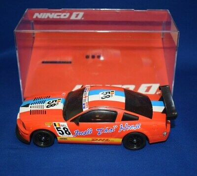 Ninco Slot Car 55044 - Ford Mustang 'DHL #58' - Scalextric DIGITAL chip fitted. segunda mano  Embacar hacia Spain