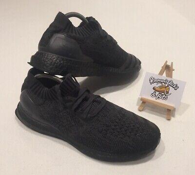 Mens Adidas Ultra Boost Uncaged Triple Black UK 8 'BA7996 RARE IBIZA GYM UNISEX'