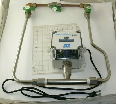 Eldridge Products Epi Master-touch Thermal Flow Meter 8650mpnh-sss-133-ac115-n2