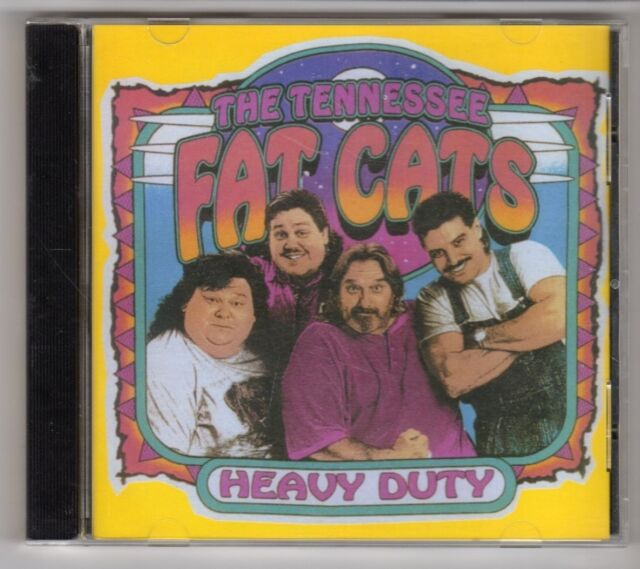 (GY738) The Tennessee Fat Cats, Heavy Duty - 2001 CD