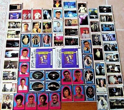 VINTAGE 1979 Star Trek MOTION PICTURE TRADING CARD STICKER SET WRAPPERS SINGLES