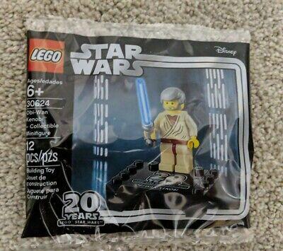 LEGO Star Wars Obi-Wan Kenobi Collecible Mini Fig 30624 Rare in sealed polybag