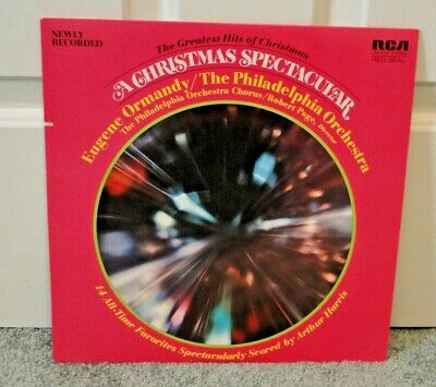 EUGENE ORMANDY & THE PHILADELPHIA ORCHESTRA - A CHRISTMAS SPECTACULAR LP ()