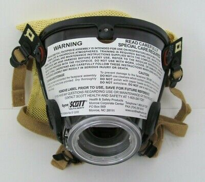 Scott Av-2000 Full Facepiece Respirator Scba Mask Size Large 804019-02