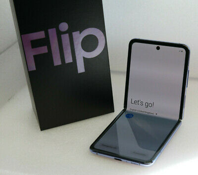Samsung Galaxy Z Flip - 256GB - Mirror Purple - Unlocked