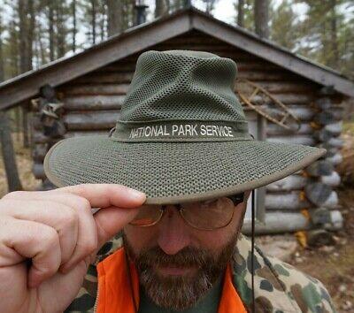 National Park Service Official Uniform Wide Brim Sun Cowboy Hat. Henschel co USA