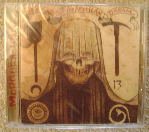 Morgue Mart – Skeleton Of The American Dream New Mint Sealed, Cd With Booklet
