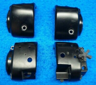 Genuine Harley Dyna Softail Sportster Right Left Handlebar Control Bezels 96-13
