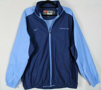 Unc Apparel (Nike Team Apparel UNC North Carolina Tarheels Windbreaker Jacket Mens Sz Large)