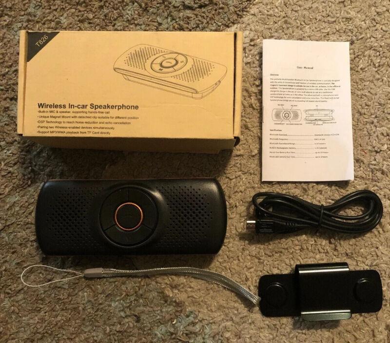 Wireless in Car Handsfree Speakerphones - lTIANSHILI Portable Bluetooth