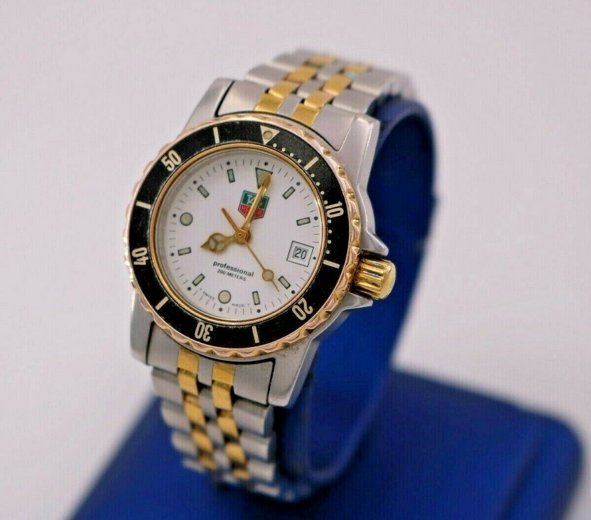 Photo Tag Heuer 1500 Series Stainless Steel Two Tone Quartz Watch, 30mm, WD1422-DO