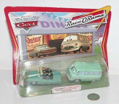 NEW Disney Pixar Cars Rusty & Dusty Rust-eze Movie Moments Diecast Metal 1:55