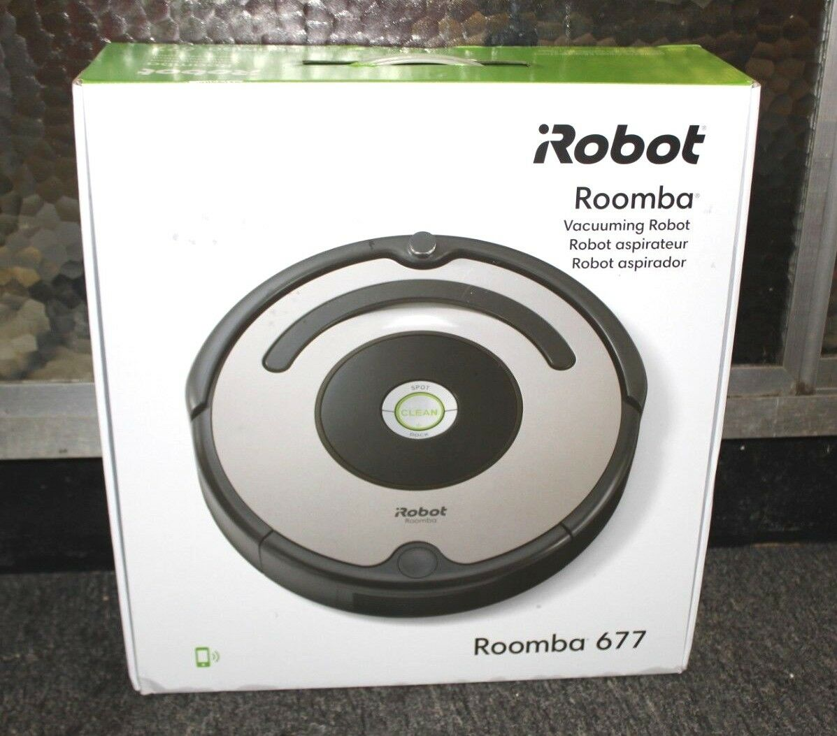 iRobot Roomba 677 Wi-Fi Connected Vacuuming Robot