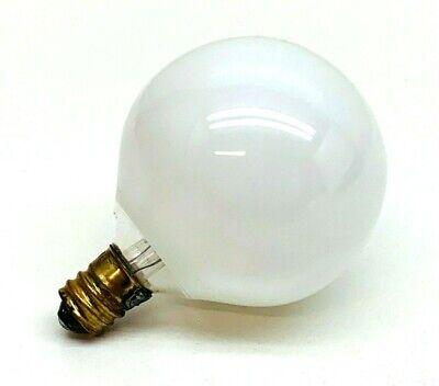 (10-Pack) Feit 25G16-1/2 40-Watt White E12 Candelabra Globe Light Bulb 40W (G16 1/2 Candelabra)
