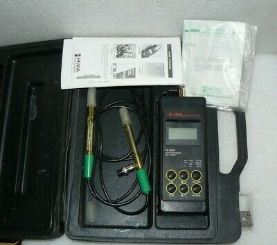 Hanna Instruments Hi 9023c Microprocessor Ph Meter With 2 Hi 1217 Electrodes