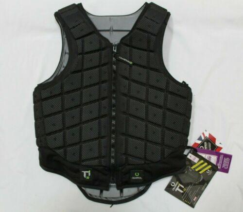 Equestrian Vest Protective Gear Ti22 Titanium Champion  Adult Medium Tall Black