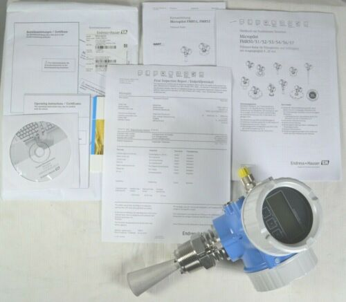 Endress Hauser Micropilot Time-of-Flight Radar FMR 51 FMR51-AAACCIBAA5RVJ+