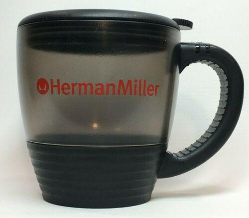 Herman Miller Logo Coffee Mug Cup with Lid - 16oz