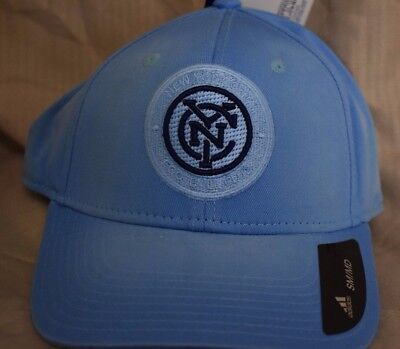 9824d3d27293f adidas Mens MLS New York City FC Football Club NYCFC Hat Cap NWT