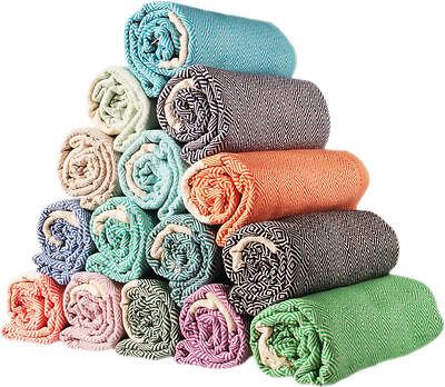 Sale Set of 6 XL Diamond Turkish Hamam Peshtemal Cotton Bath Confess b confront Towel Spa Bath