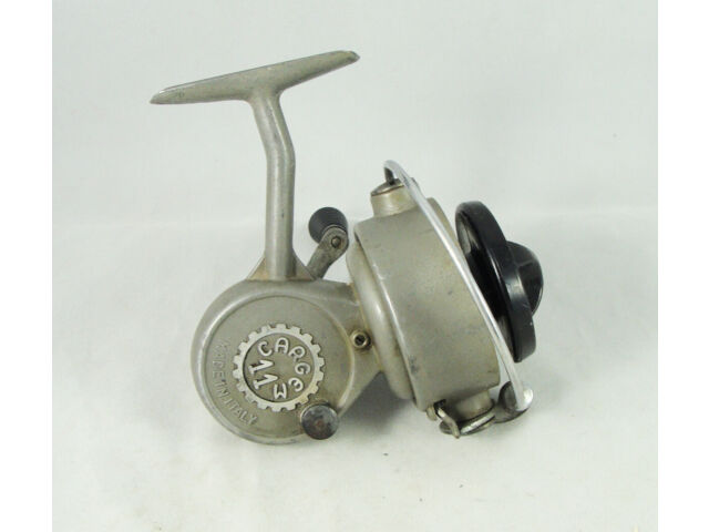 Old Vintage CARGEM No. 11 Spinning Reel - Made in Italy