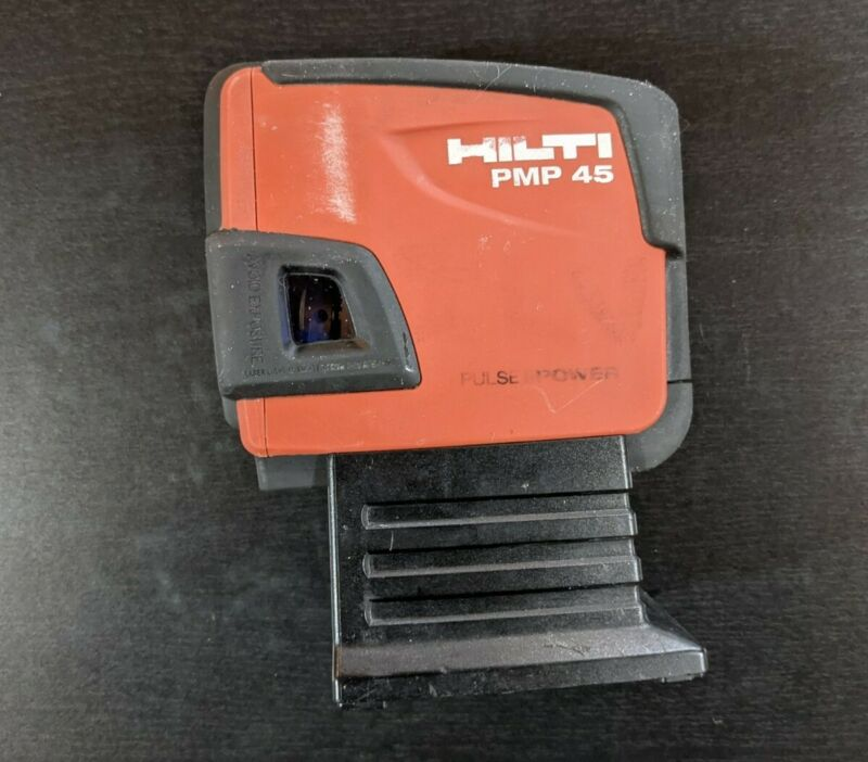 Hilti PMP 45 Plumb Square Level Self Leveling 5 Point Laser - Tested & Cleaned