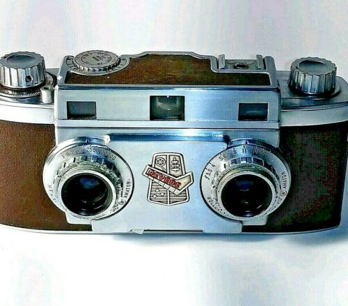 Revere Stereo 33 3D Stereo Vintage Camera Made in USA