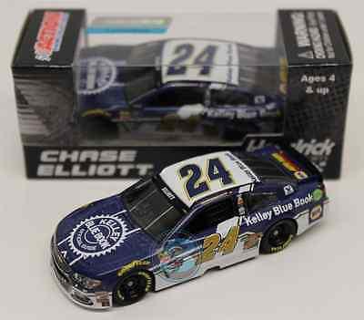 ROOKIE NASCAR 2016 CHASE ELLIOTT # 24 KELLEY BLUE BOOK 1/64 CAR