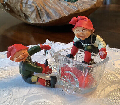 Candy Designs of Norway Elves x 2 w mouse and climber