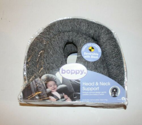 Boppy ~ Head & Neck Support Pillow / Gray ~ Baby Infant 0+ months