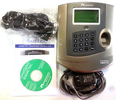 Tq100 Timeqplus Complete Time And Attendance System With Biometric Terminal
