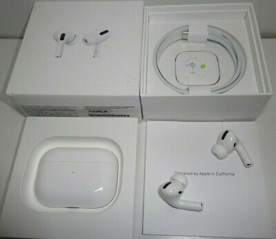 Apple AirPods Pro MWP22AM/A W/ Charging Case Genuine Apple