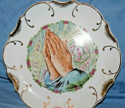 Plates Plaques Plate Praying Hand Vatican