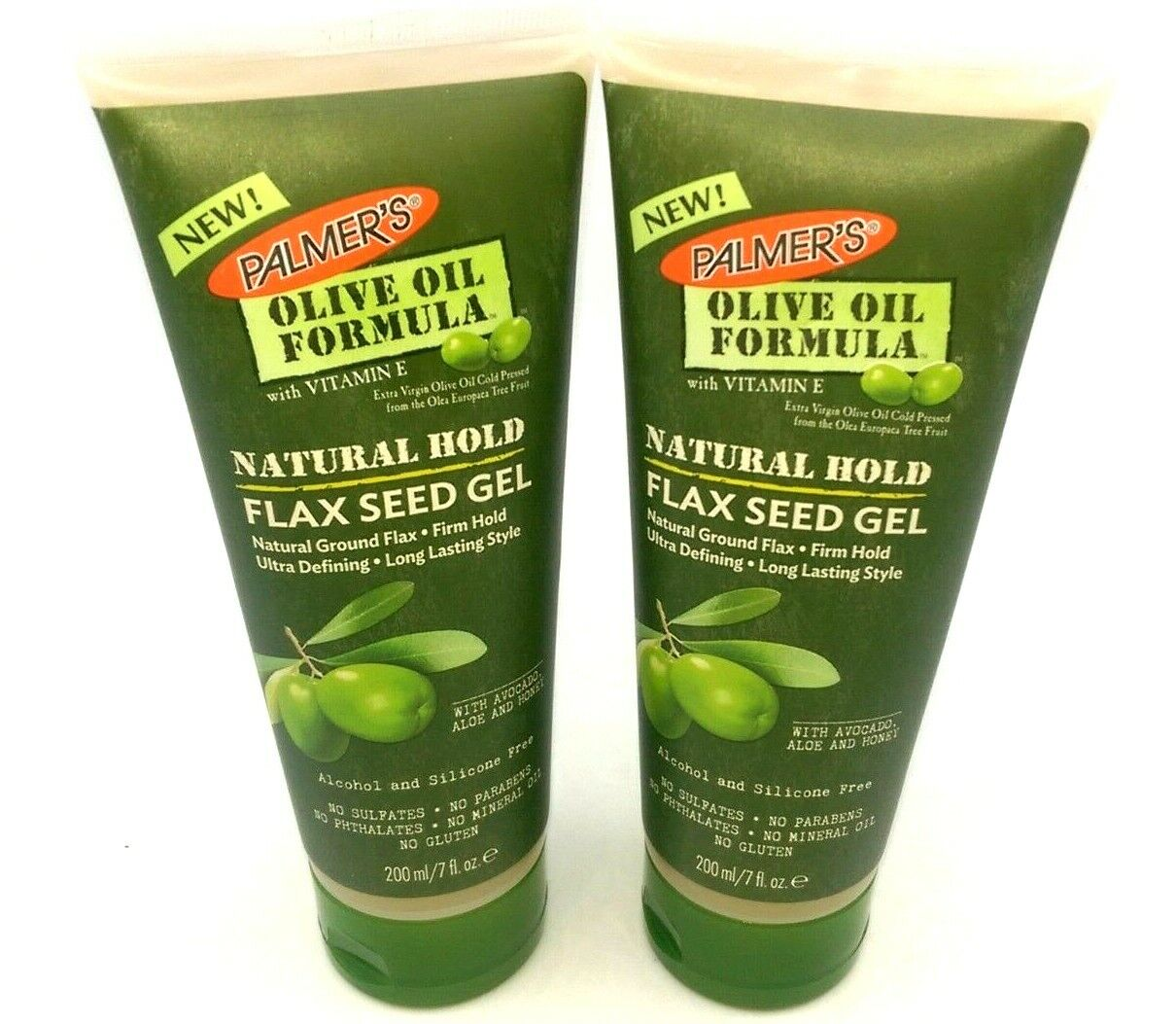 PALMERS Olive Oil Formula Natural Styling Hold Flax Seed Ge