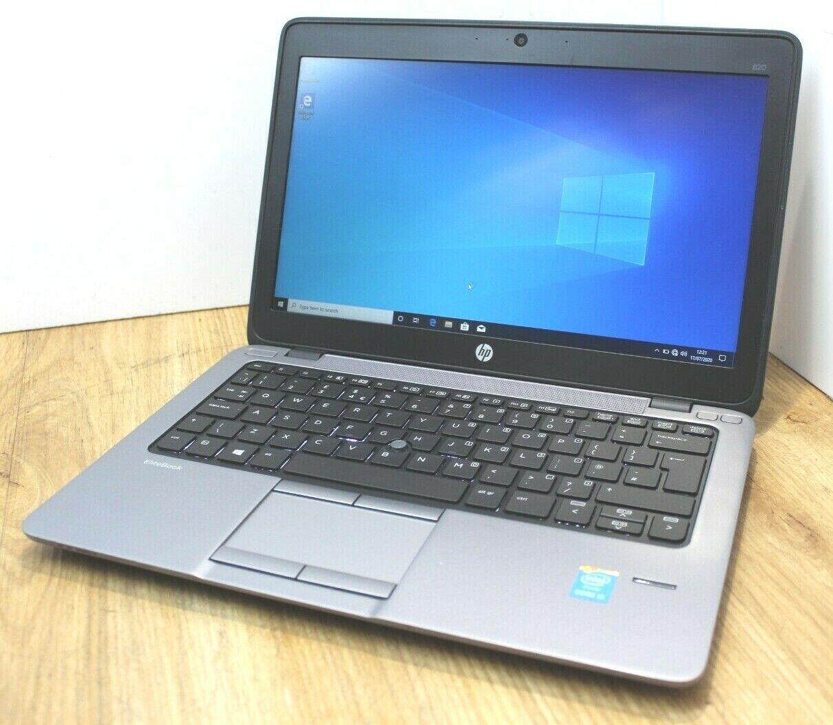Laptop Windows - HP Elitebook 820 G1 Windows 10 Laptop Intel Core i5 4th Gen 1.7GHz 4GB 320GB HDD