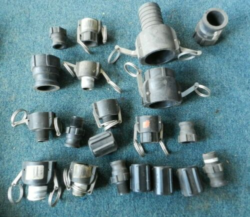 ^B Lot of CAM ACTION COUPLER 2